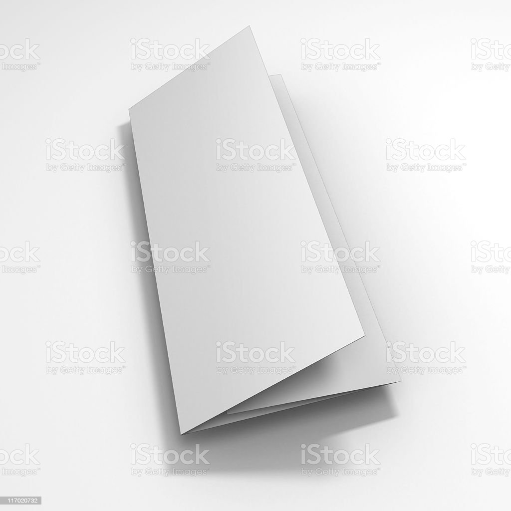 trifold 4 royalty-free stock photo