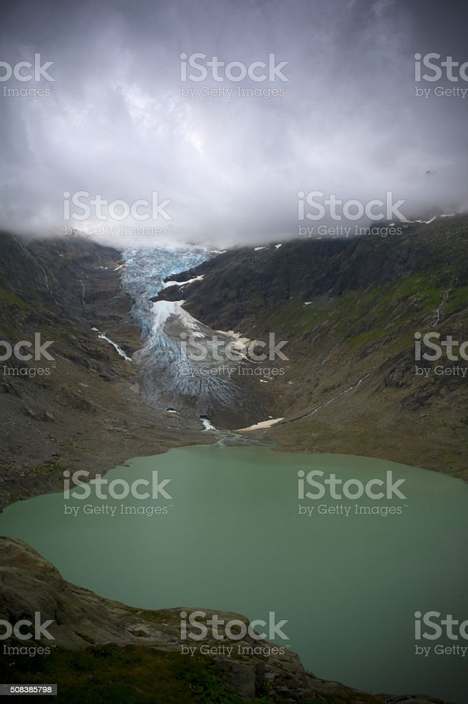 trift lake stock photo
