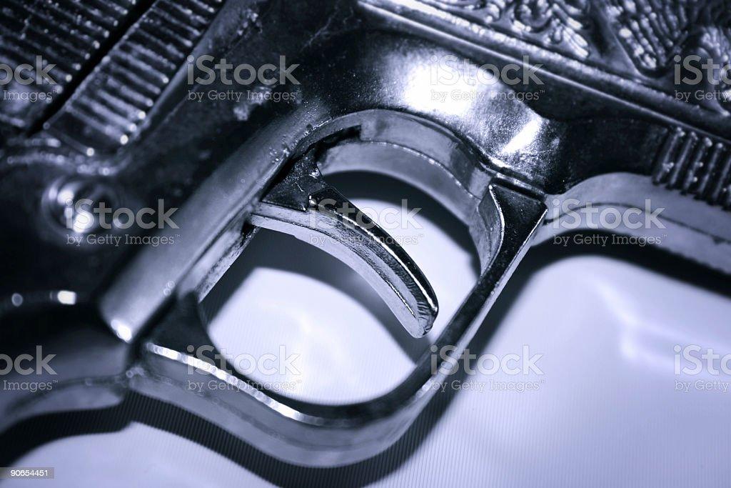 Trigger stock photo