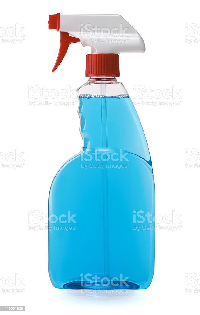 Trigger Spray Cleaner royalty-free stock photo
