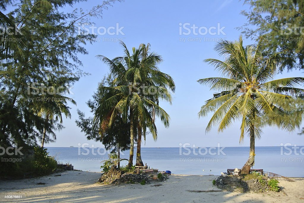 Trikora Beach stock photo
