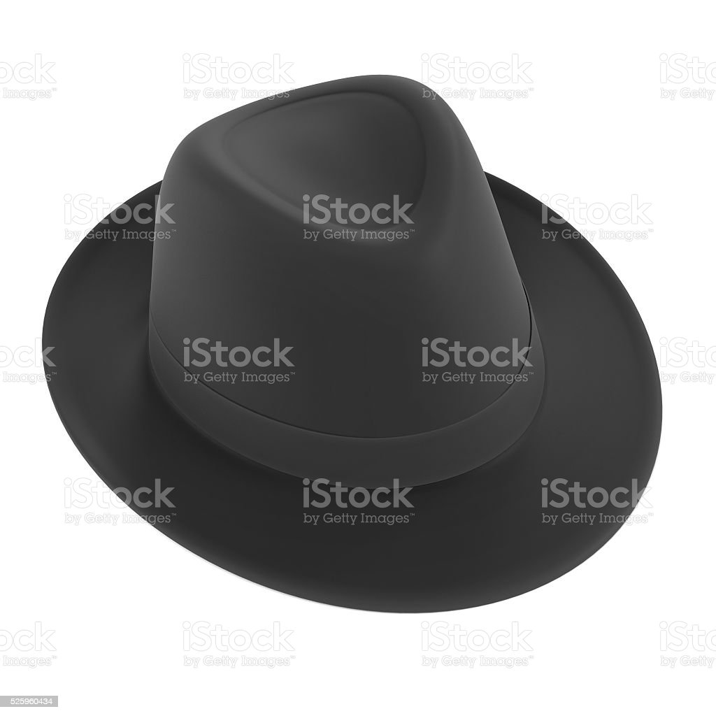 trilby hat stock photo