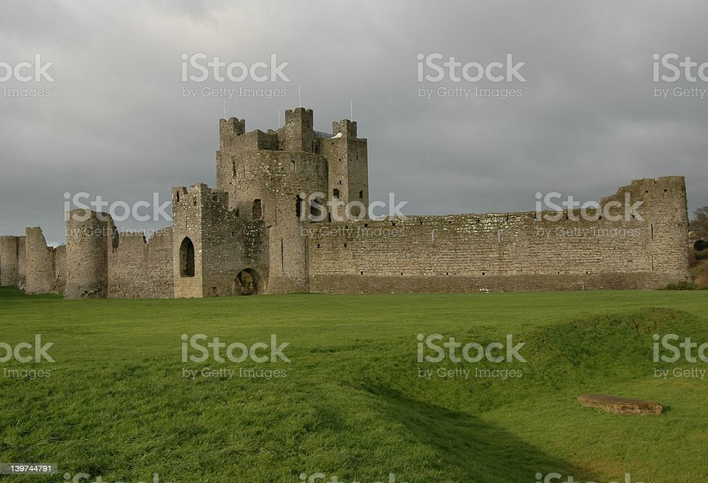Trim Castle ,Co Meath Ireland stock photo