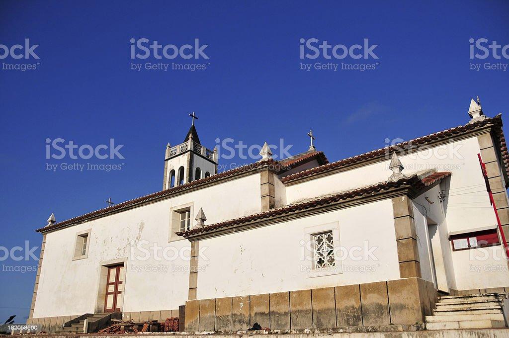 Trindade, S?o Tom? and Pr?ncipe: parish church stock photo