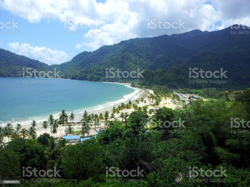 Trinidad Beach stock photo