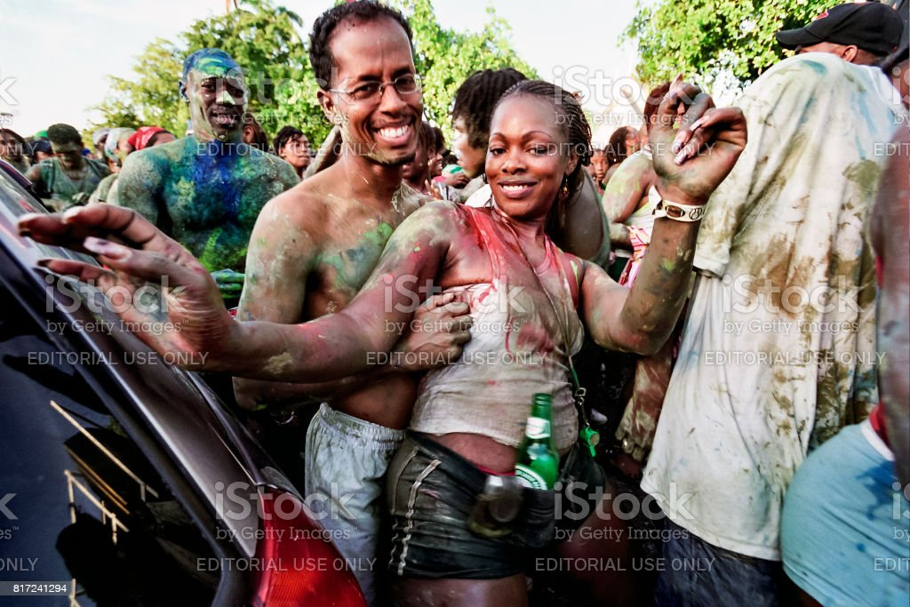Trinidad Carnival 2006 Jouvet Heineken 1 stock photo