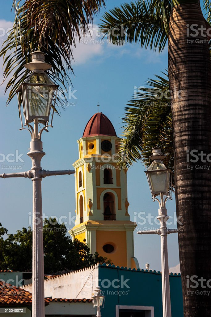 Trinidad Convent Tower stock photo