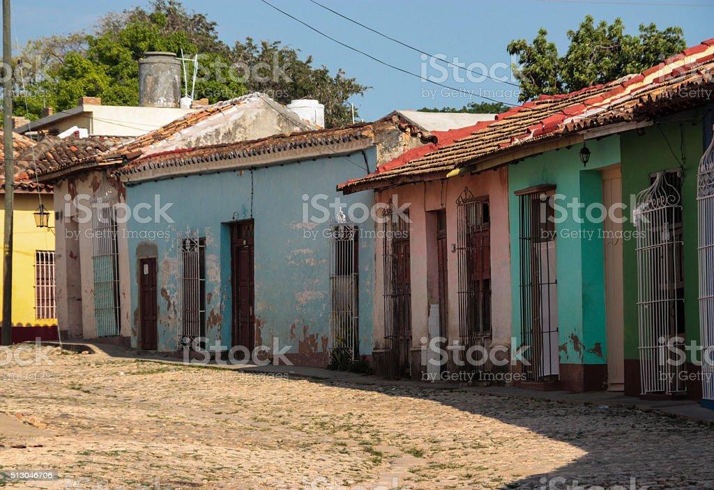 Trinidad Houses, Cuba stock photo