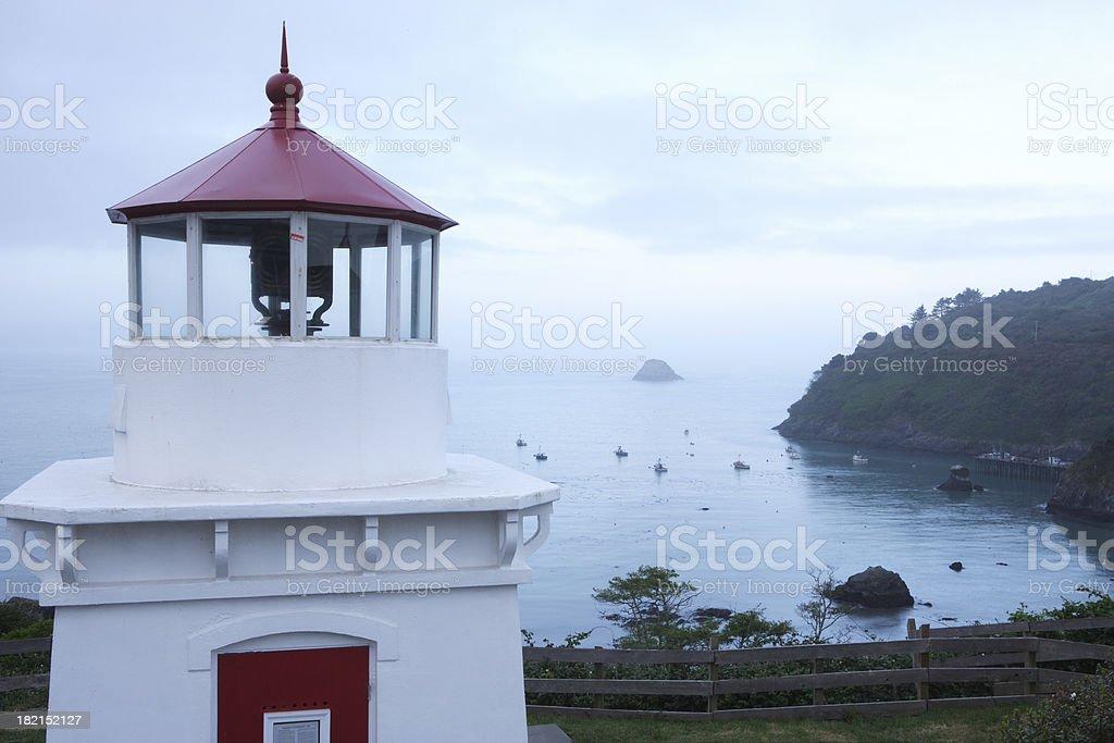 Trinidad Lighthouse royalty-free stock photo