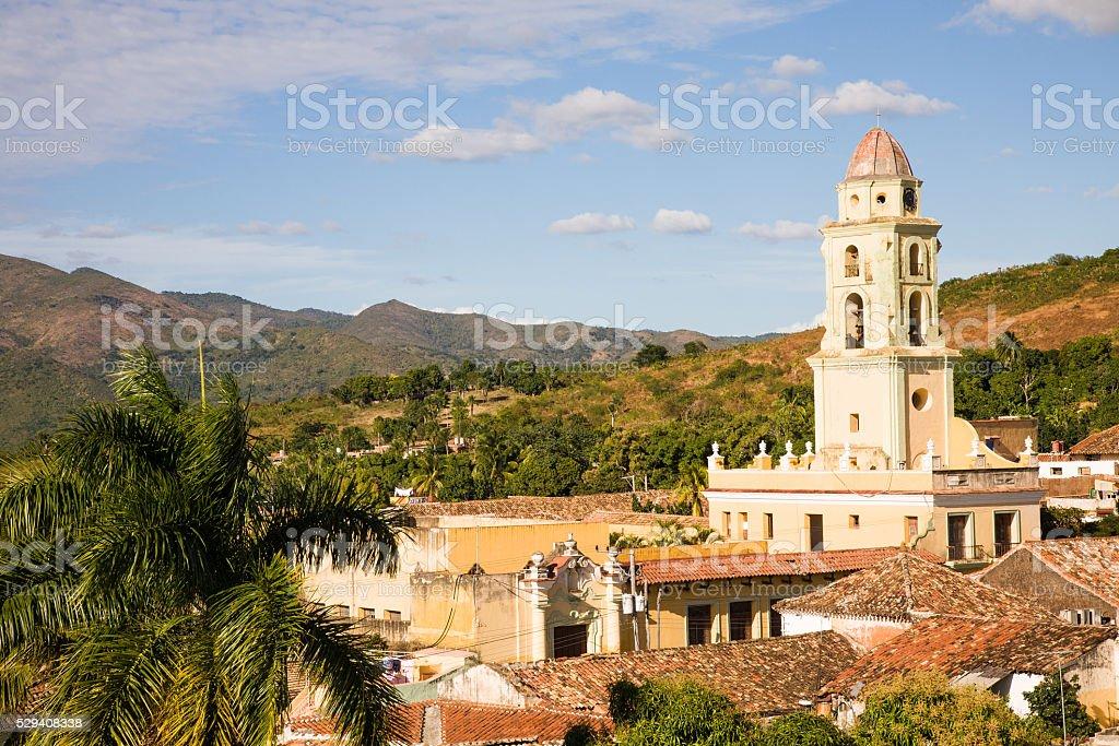 Trinidad skyline, Cuba stock photo