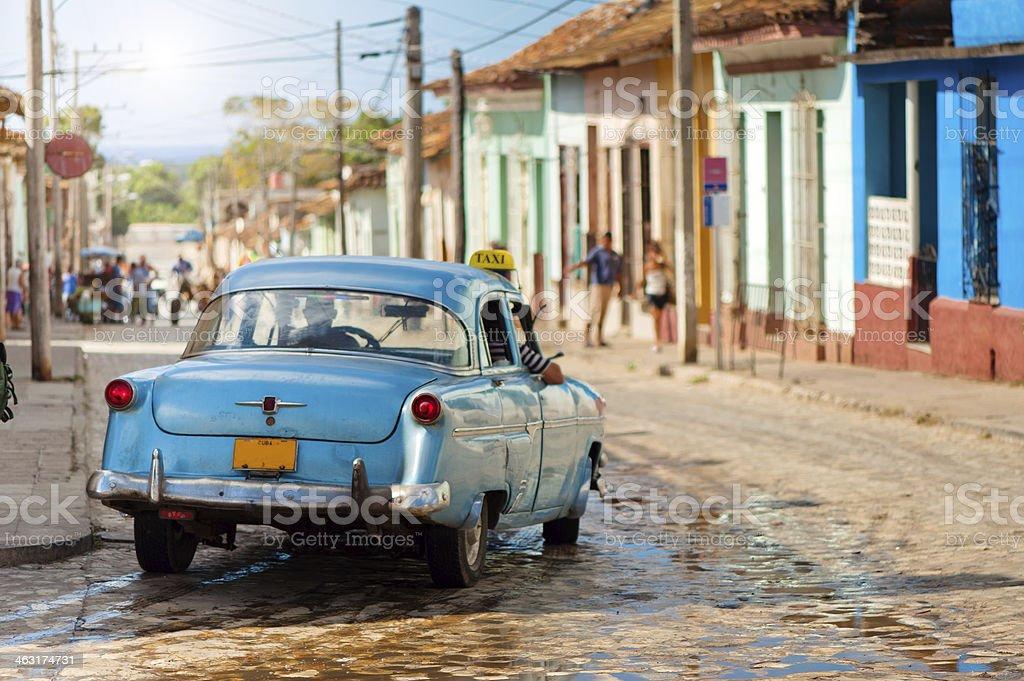Trinidad street, Cuba stock photo