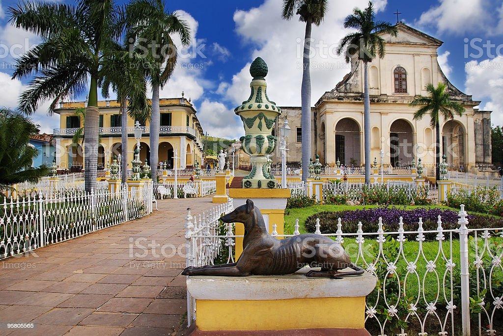 Trinidad town, cuba stock photo
