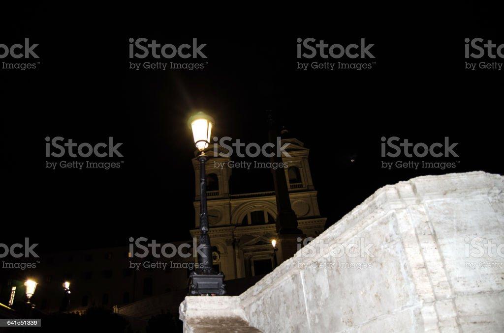 Trinità dei Monti stock photo