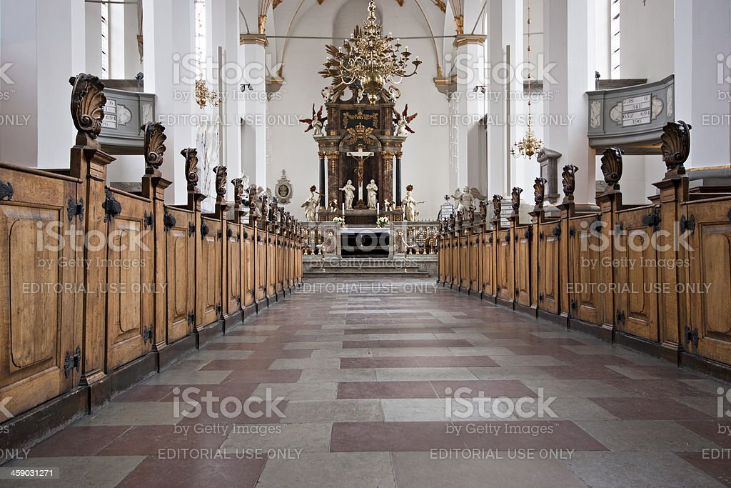 Trinitatis Church in Copenhagen, Denmark royalty-free stock photo
