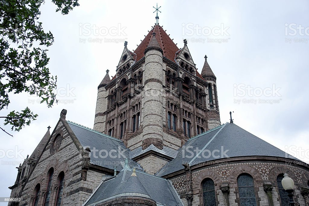 Trinity Church Boston Massachusetts royalty-free stock photo