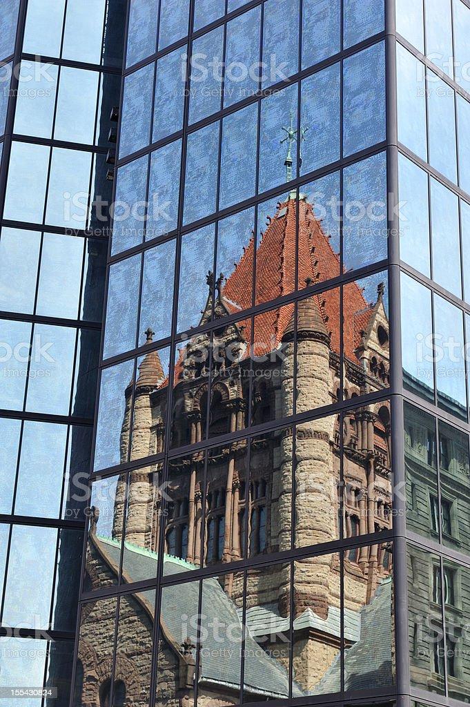 Trinity Church Boston royalty-free stock photo