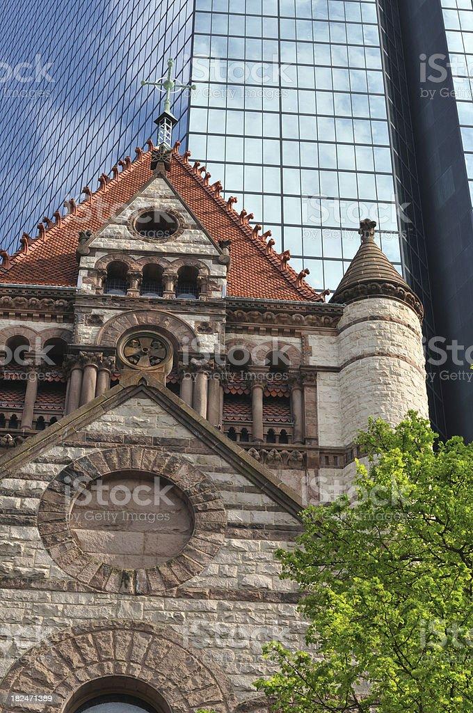 Trinity Church royalty-free stock photo