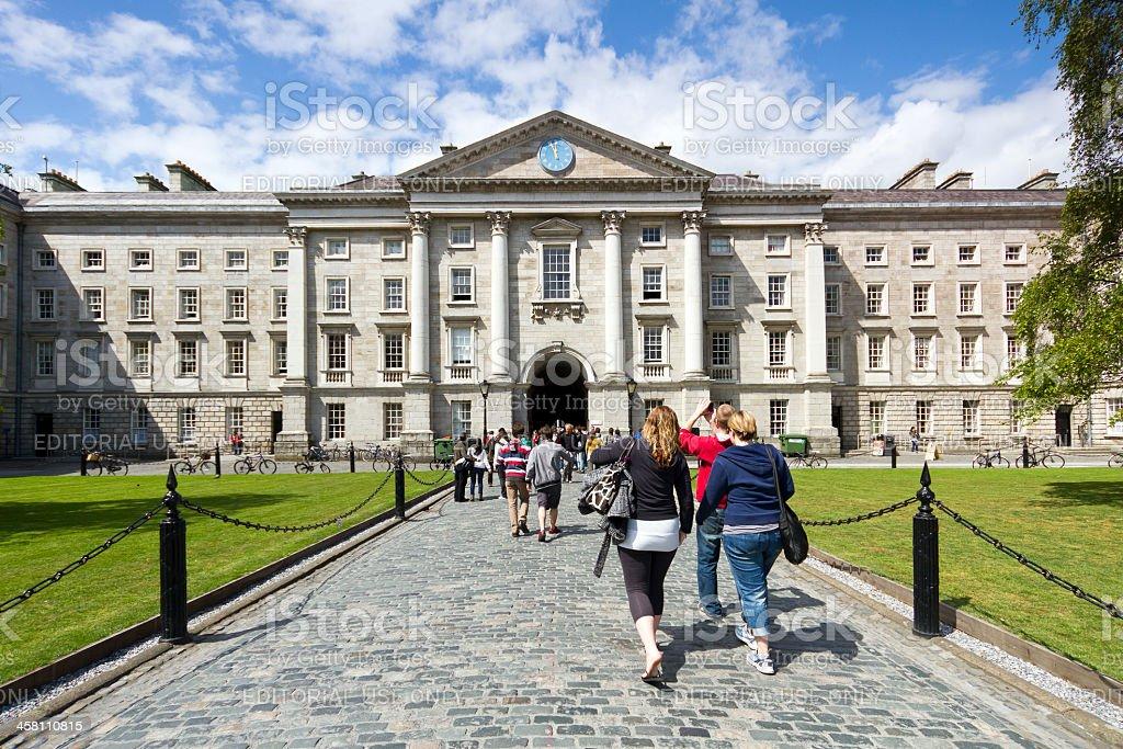 Trinity College, Dublin Ireland stock photo