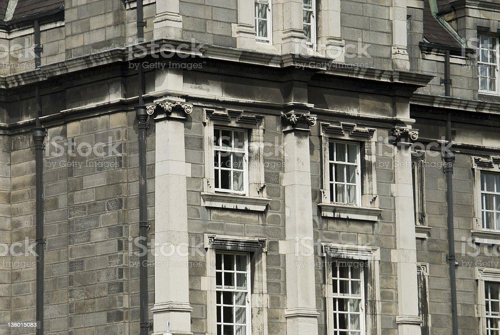 Trinity College - Dublin royalty-free stock photo