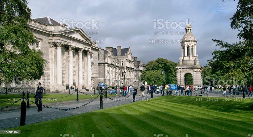 Trinity College, Dublin (Ireland) stock photo