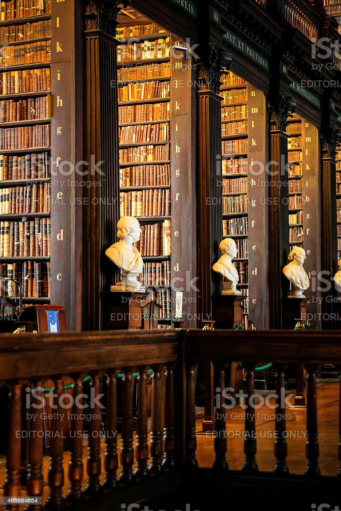 Trinity College Library Dublin stock photo