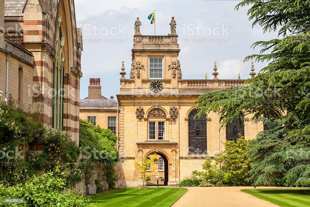 Trinity College. Oxford, UK stock photo