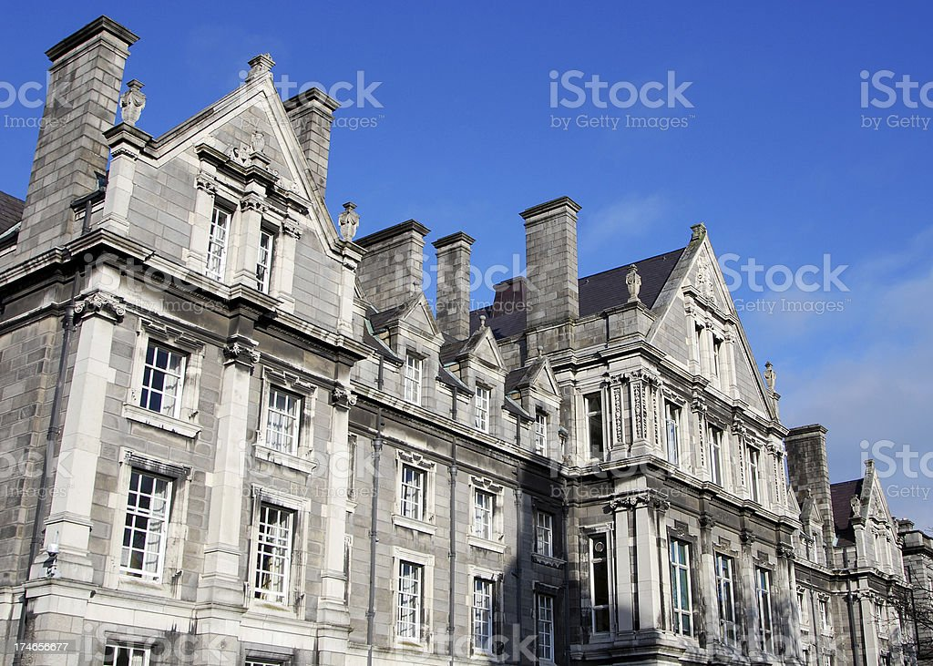 Trinity College royalty-free stock photo