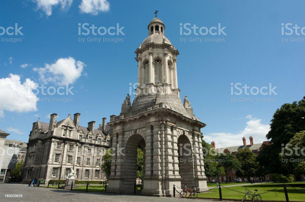 Trinity College stock photo