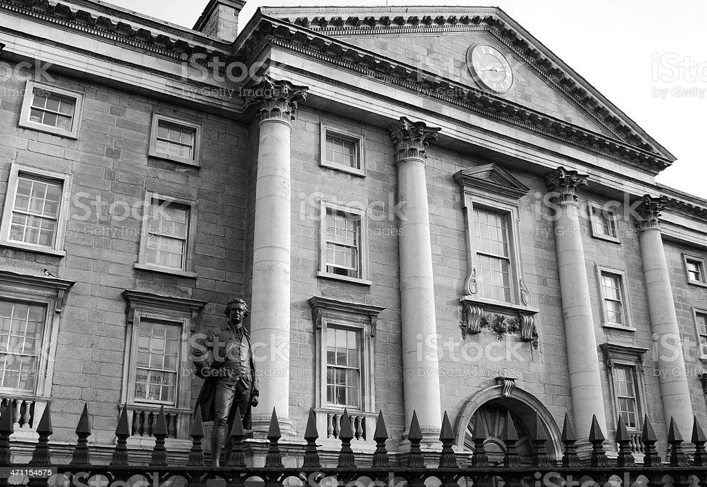 Trinity College royalty-free stock photo