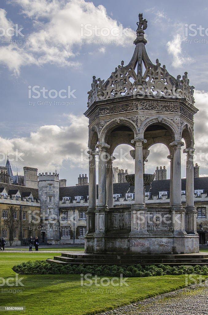 Trinity College's court stock photo