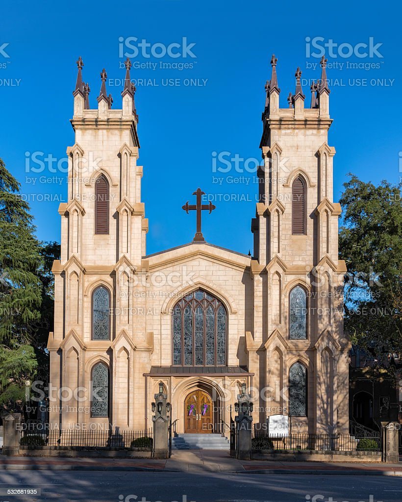 Trinity Episcopal Cathedral stock photo