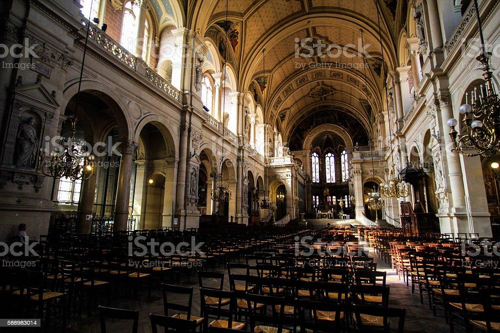 Trinity in Paris royalty-free stock photo