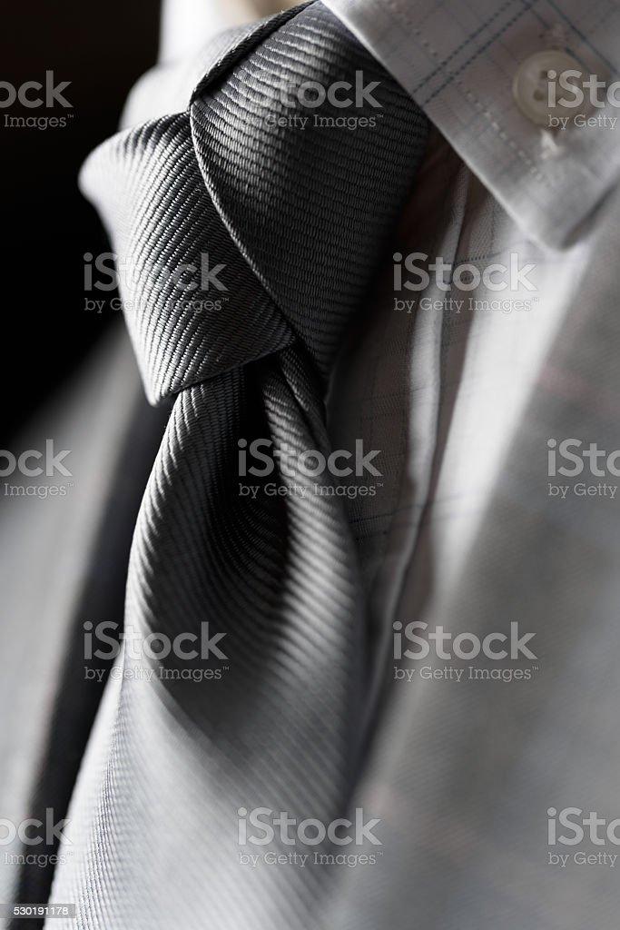Trinity Knot tie stock photo