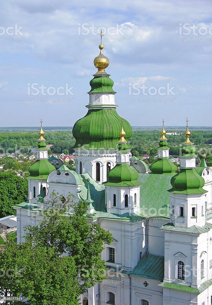 Trinity Monastery in Chernigov stock photo