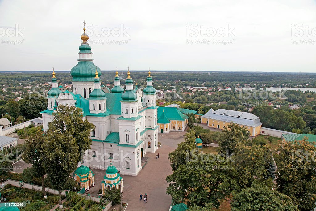 Trinity Monastery in Chernihiv, Ukraine stock photo