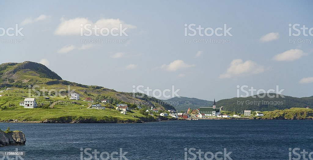 Trinity, Newfoundland, Canada stock photo
