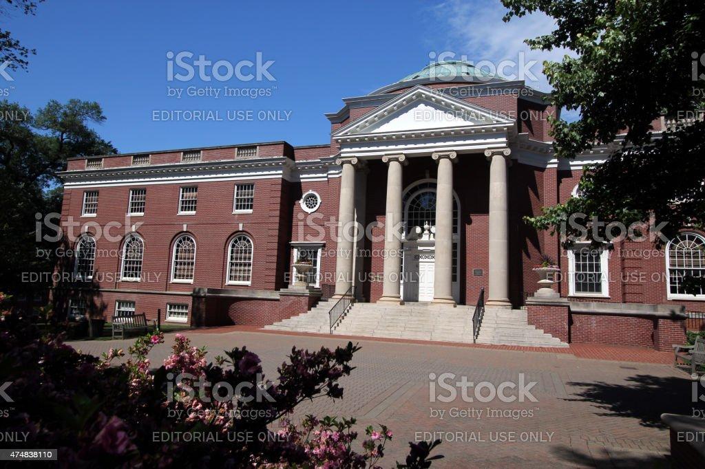 Trinkle Hall - UMW stock photo