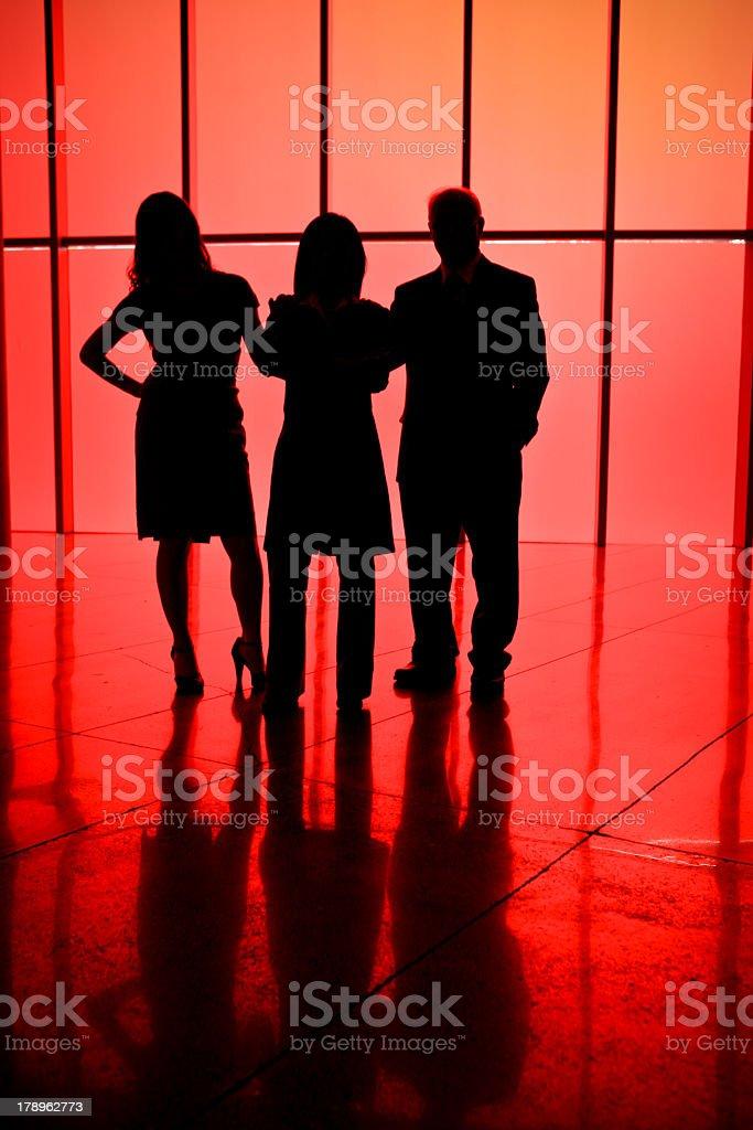 Trio stock photo