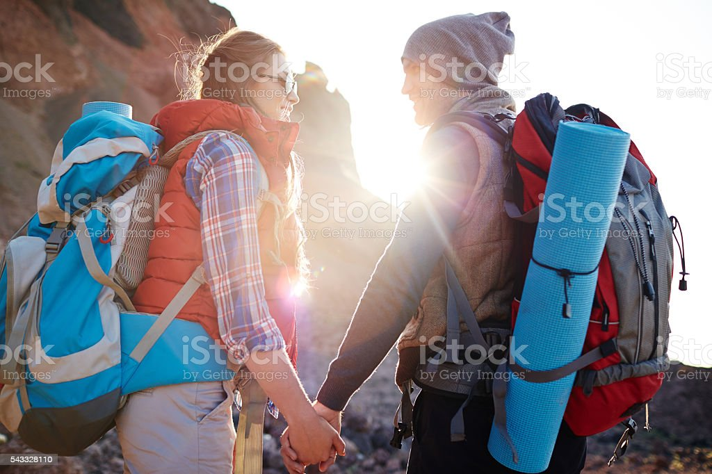 Trip lovers stock photo