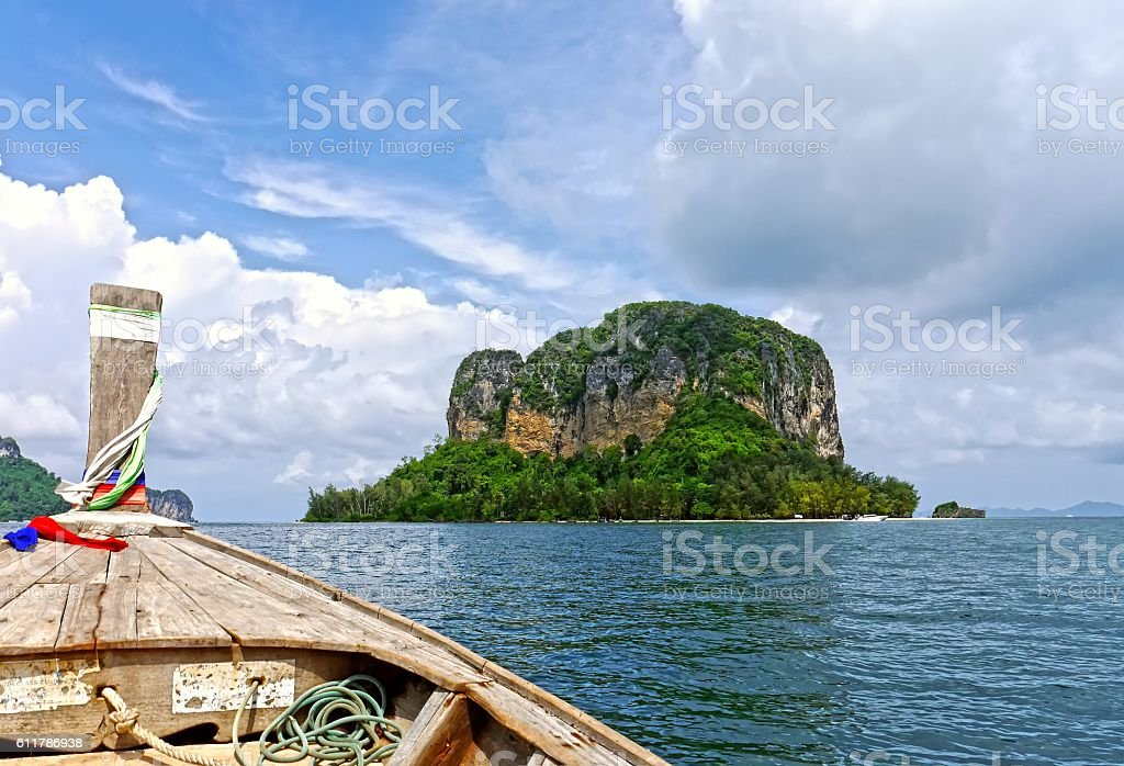 Trip of PhiPhi and Krabi Islands. THAILAND. stock photo