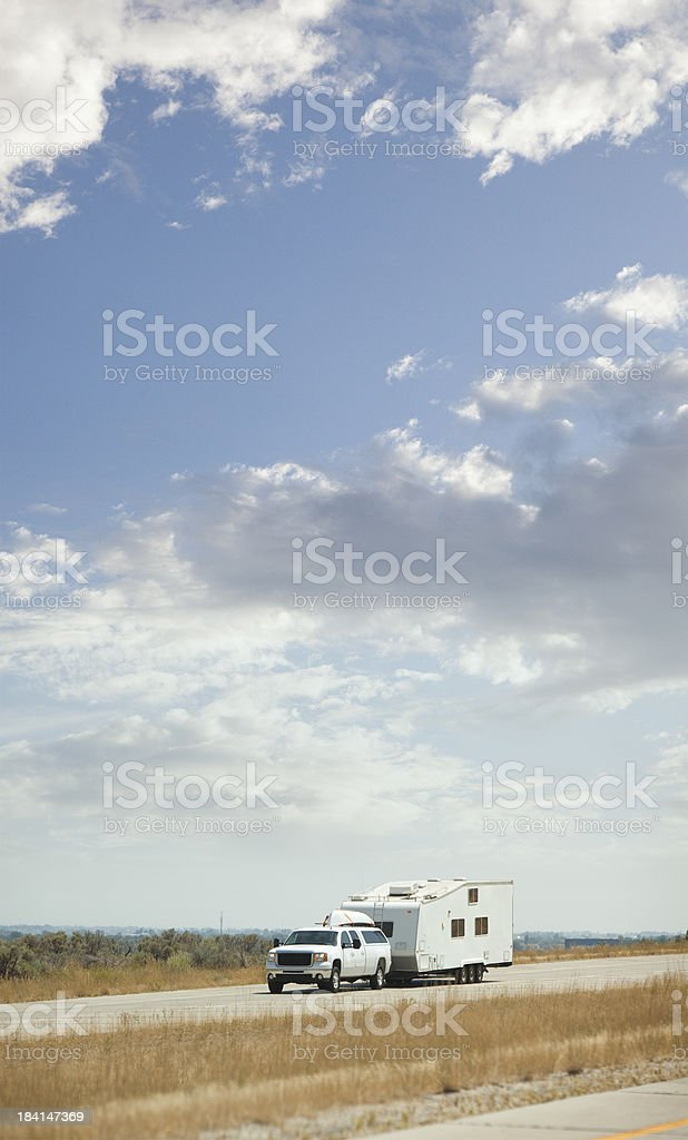 RV Trip stock photo