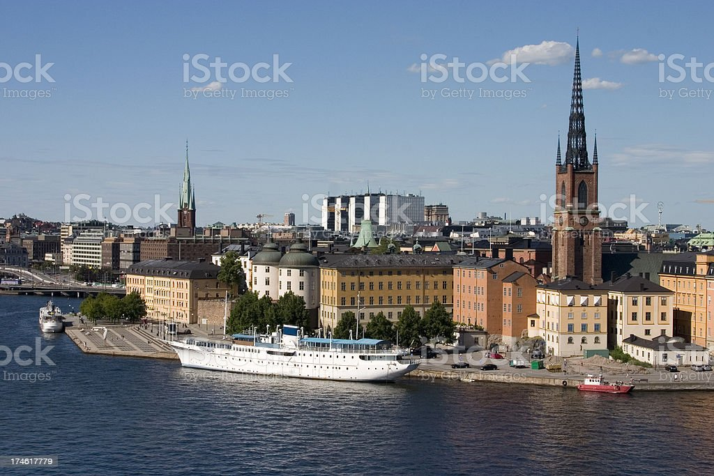 trip to sweden royalty-free stock photo