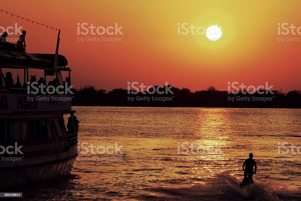 Trip to the sun royalty-free stock photo