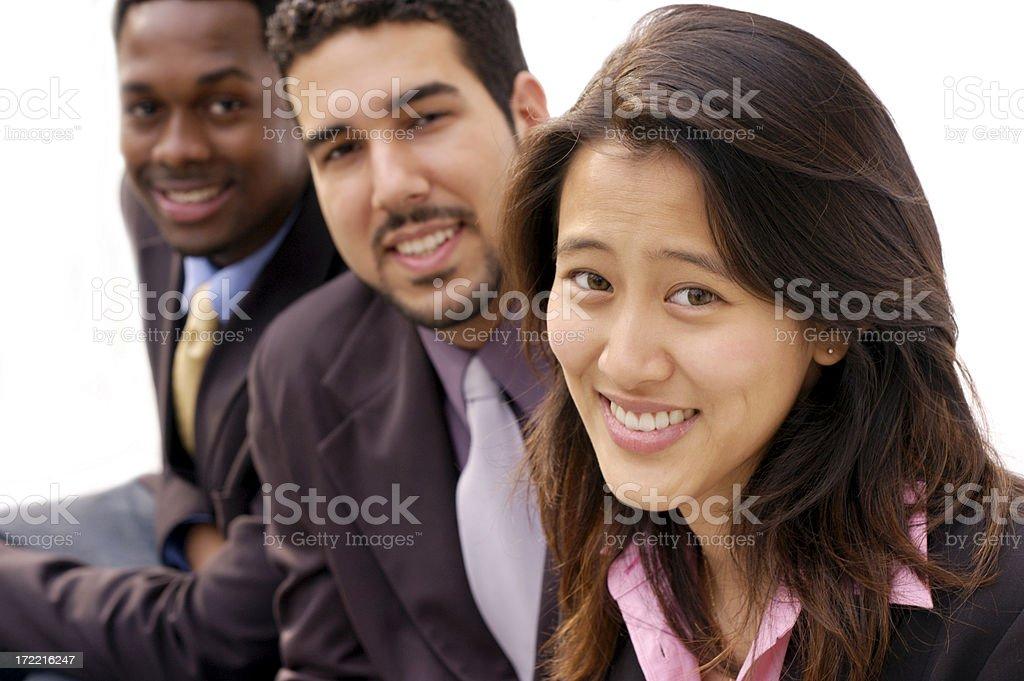 triple diversity royalty-free stock photo