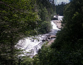 Triple Falls in Dupont State Forest North Carolina