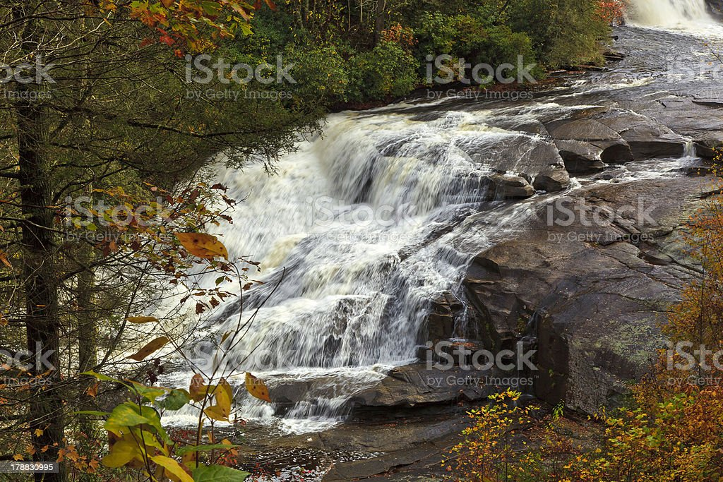 Triple Falls Lower Portion stock photo