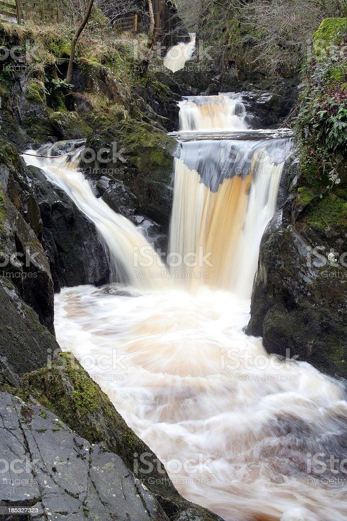 Triple Spout Waterfalls royalty-free stock photo