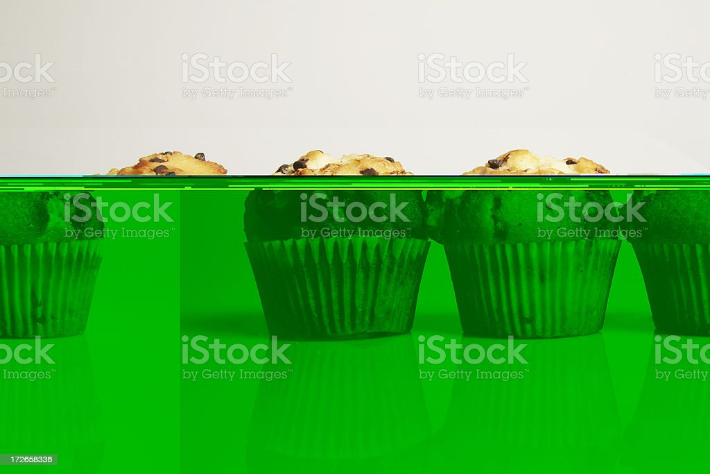 Triple the great taste - Muffins royalty-free stock photo