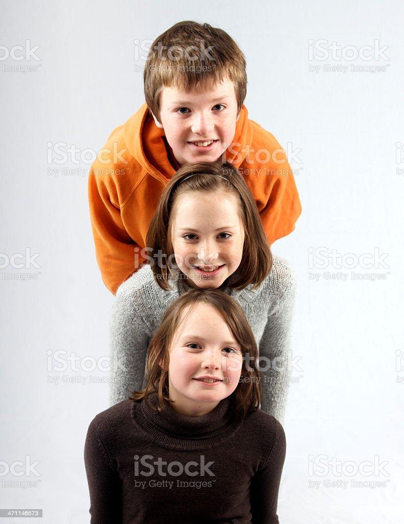 Triplets royalty-free stock photo