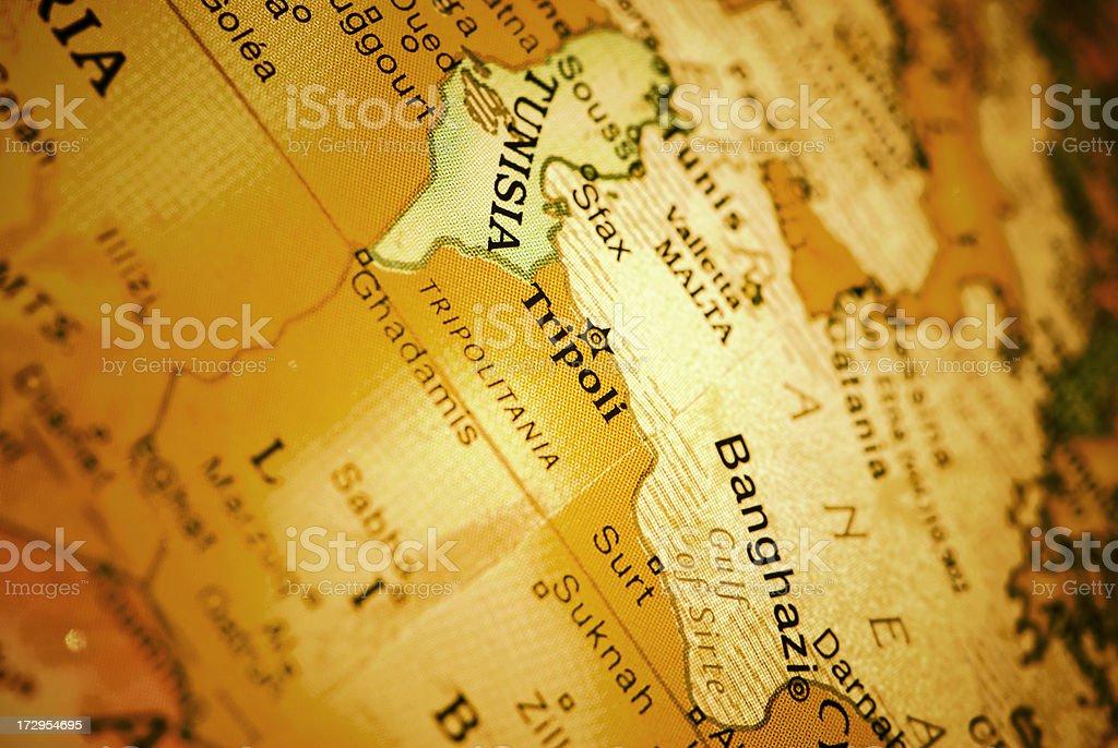 Tripoli royalty-free stock photo